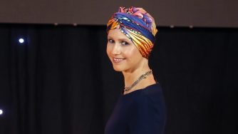 La first lady siriana Asma al Assad