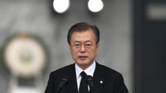 Il presidente sudcoreano Moon Jae-in (LaPresse)