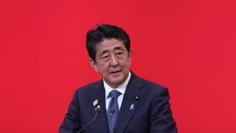 Il primo ministro giapponese Shinzo Abe (LaPresse)
