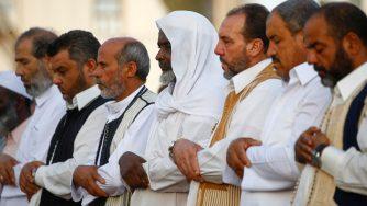 La festa del sacrificio in Libia (LaPresse)