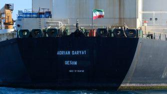 La petroliera Adrian Darya 1 (LaPresse)