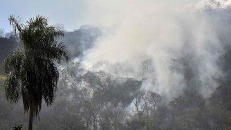 L'Amazzonia devastata dagli incendi (LaPresse)