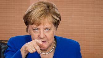 Angela Merkel a Berlino