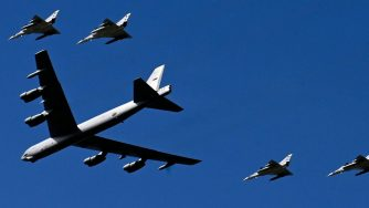 B-52 aereo