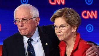 Bernie Sanders e Elizabeth Warren (LaPresse)