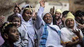 I cristiani copti d'Egitto (LaPresse)