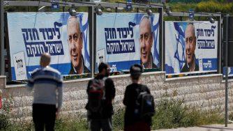 Manifesti Netanyahu