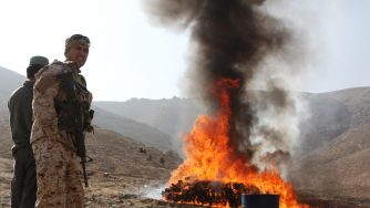 Afghanistan droga