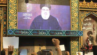 Il leader di Hezbollah Hassan Nasrallah (LaPresse)