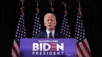 Il candidato dem alla Casa bianca Joe Biden (LaPresse)