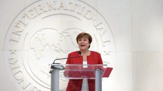 Kristalina Georgieva, a capo del Fondo monetario internazionale (LaPresse)