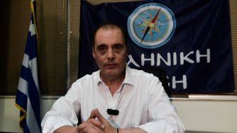 Kyriakos Velopoulos, leader di Soluzione greca (LaPresse)