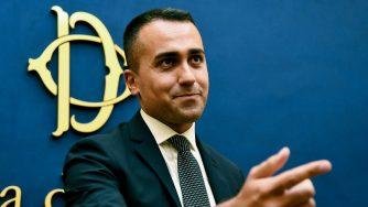 Il ministro degli Esteri italiano, Luigi Di Maio (LaPresse)