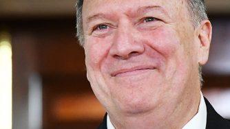Il Segretario di Stato americano Mike Pompeo (LaPresse)