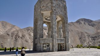 Il mausoleo di Massoud nella valle del Panjshir