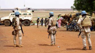 Peacekeepers senegalesi in Mali (LaPresse)