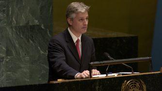 Robert O'Brien, nuovo consigliere per la sicurezza nazionale di Donald Trump (LaPresse)