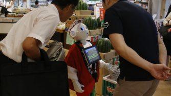 Il Giappone sta puntando sempre di più sui robot per mettere un freno alla crisi demografica che sta piegando il Paese (LaPresse)