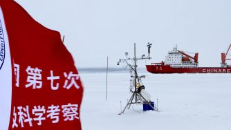 Cina punta l'Artico