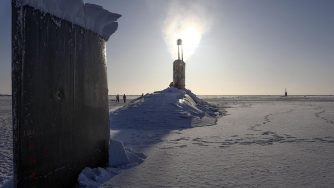 Polo Nord sottomarino