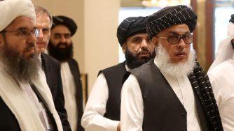 Talebani a colloquio (LaPresse)