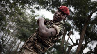 Un soldato della Repubblica centrafricana (LaPresse)