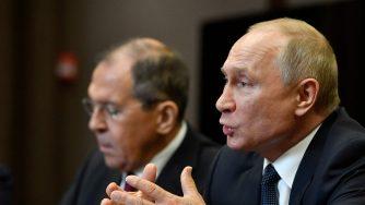 Lavrov e Putin a Sochi
