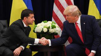 Trump incontra Zelensky a margine dell'Assemblea generale delle Nazioni Unite (LaPresse)