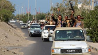 Ribelli Houthi in Yemen