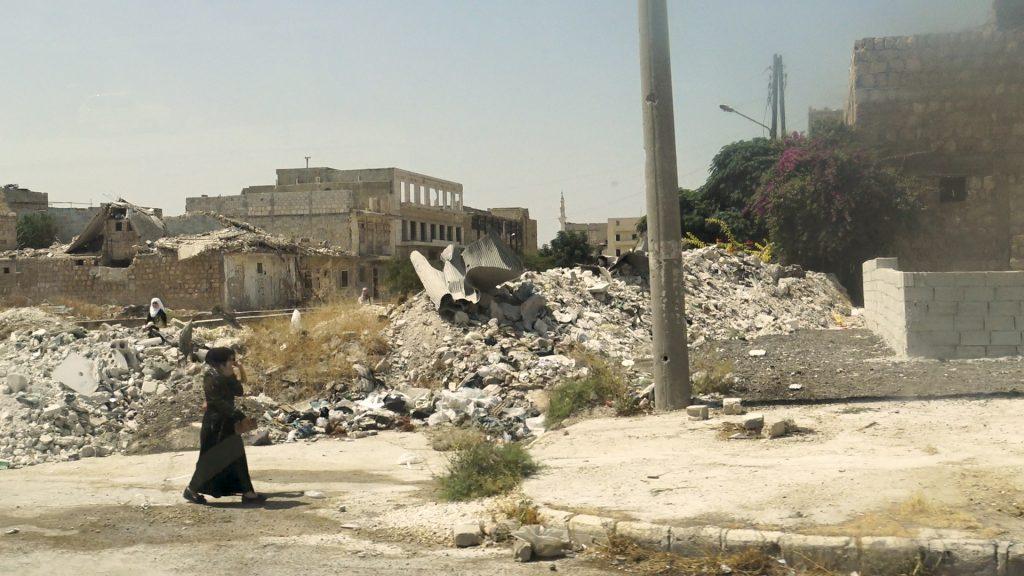 Rovine di Aleppo