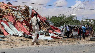 Somalia, attacco a un convoglio italiano a Mogadiscio (LaPresse)