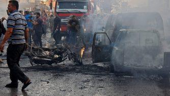 Attentato a Qamishli (LaPresse)