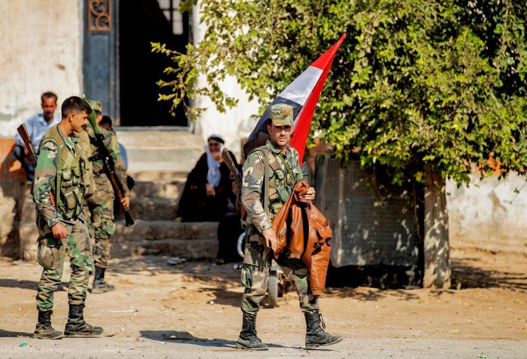 Avanzata turca in Siria (La Presse)
