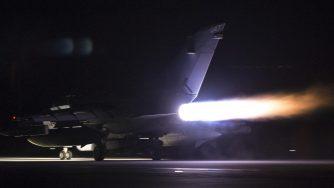 Caccia Tornado della Royal Ai Force britannica