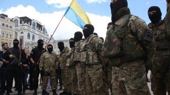 Battaglione Azov (LaPresse)