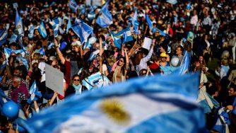 La campagna elettorale in Argentina (LaPresse)