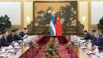 Vertice Cina Uzbekistan