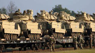Lituania, esercito Usa