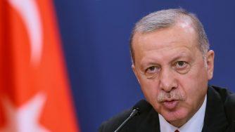 Erdogan in conferenza stampa