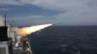 Esercitazione della Marina cinese (LaPresse)