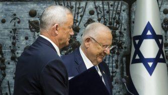 Ganz incontra Netanyahu