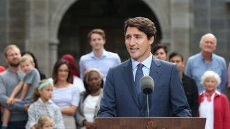 Il primo ministro canadese Justin Trudeau (LaPresse)