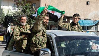 Milizie filo turche in Siria (LaPresse)