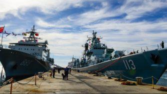 Navi Marina cinese (La Presse)