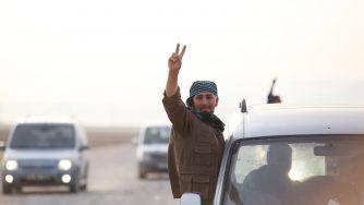 Forze peshmerga arrivano in Turchia (LaPresse)