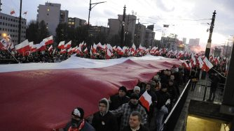 Polonia, marcia a Varsavia