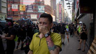 Proteste a Hong Kong (LaPresse)