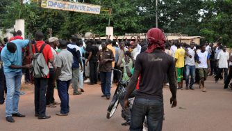 Proteste in Burkina Faso (LaPresse)