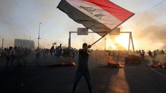 Proteste in Iraq (LaPresse)