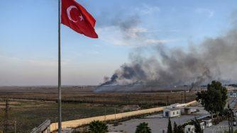 Raid della Turchia contro i curdi in Siria (LaPresse)